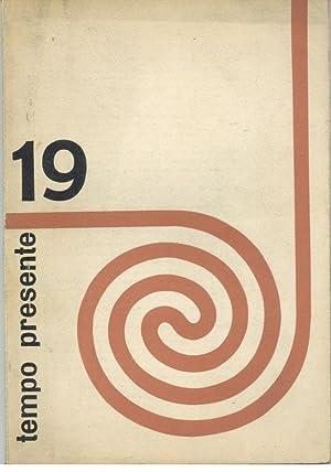 TEMPO PRESENTE. Revista Portuguesa De Cultura. Nº: REVISTA