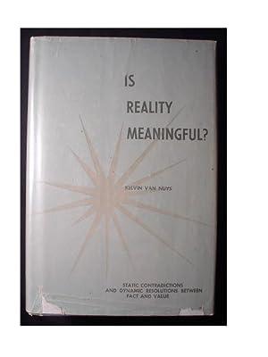 IS REALITY MEANINGFUL?: Van Nuys, Kelvin