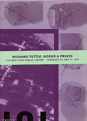 Richard Tuttle: Books & Prints: Tuttle, Richard