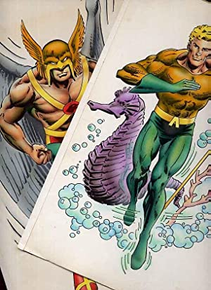 Original Artwork of Aquaman & Hawkman