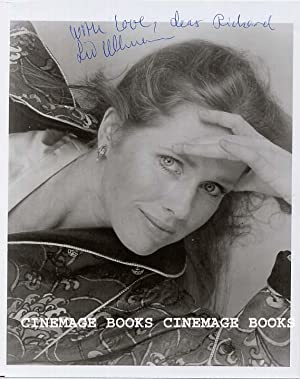 Liv Ullmann Inscribed and Signed Photograph