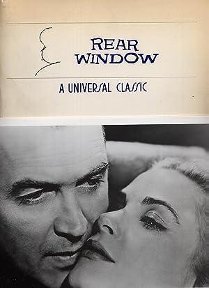 Rear Window 1983 Presskit: Hitchcock, Alfred