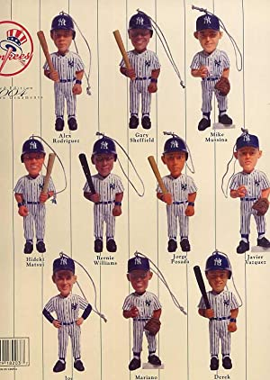 New York Yankees Limited Edition 2004 Miniature Ornaments: New York Yankees