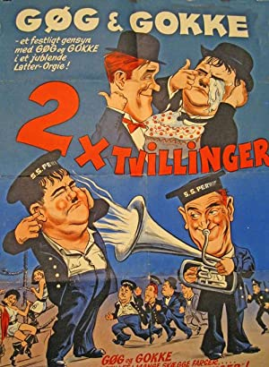 2 x Tvillinger Twins): Laurel & Hardy