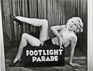 2 Publicity Stills from Gold Diggers of 1935 and Footlight Parade