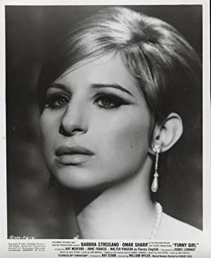 Original Close-up Portrait of Barbra Streisand from Funny Girl
