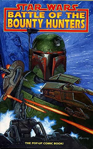 Star Wars Battle Of The Bounty Hunters. The Pop-Up Comic Book!