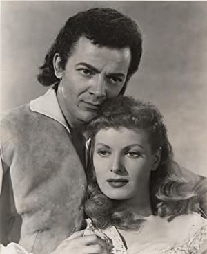 Original Portrait of Cornell Wilde and Maureen O'Hara from Sons Of The Musketeers