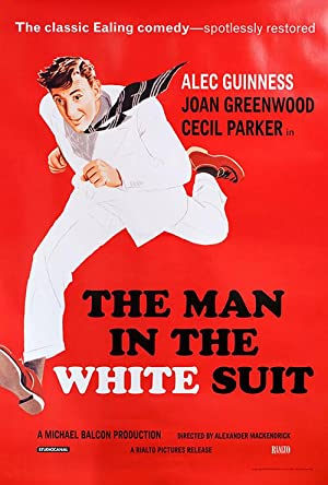 the Man in the White Suit Re-Issue Poster
