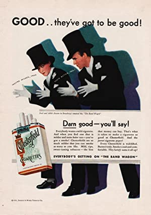 Chesterfield Cigarette Ad: Astaire, Fred &