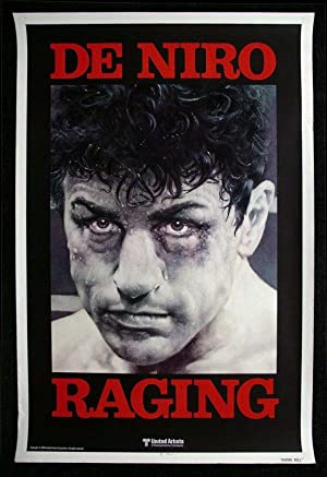 Original Raging Bull Advance Rolled One Sheet Poster