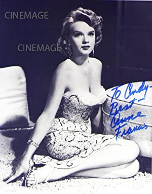 Two Inscribed and Signed Portraits of Anne Francis