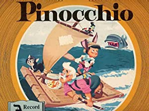 Walt Disney's Story Of Pinocchio, A Record And A Book