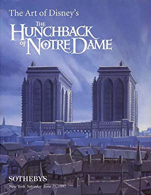 The Art Of Disney's The Hunchback Of Notre Dame & James And The Giant Peach.
