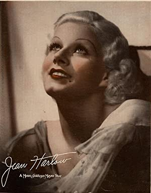 Jean Harlow Original Photo Portrait