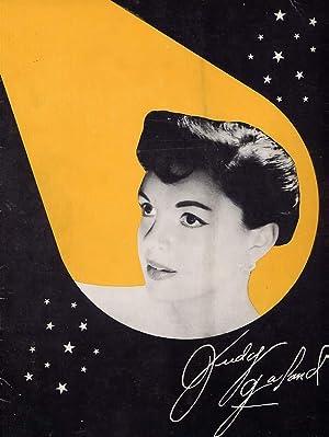 Judy Garland At The Palace Souvenir Program: Garland, Judy