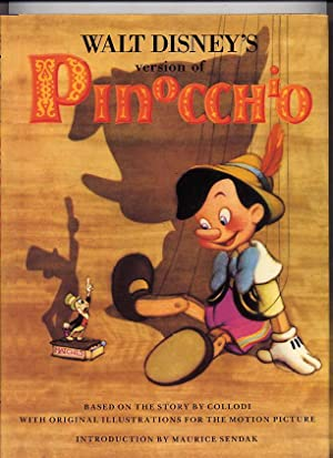 Walt Disney's Version Of Pinocchio
