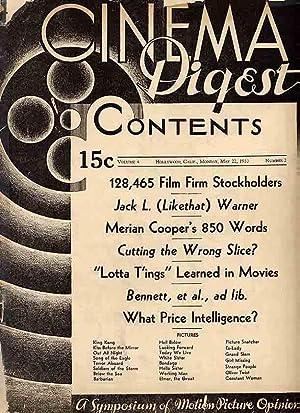 Cinema Digest Magazine.: Cinema Digest