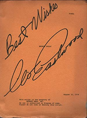Bronco Billy Original Screenplay By Dennis E. Hackin