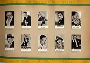 Filmstar Cards in Album