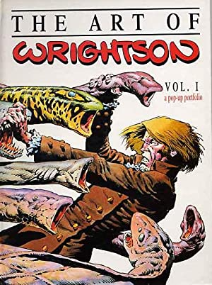 The Art Of Wrightson. A Pop-Up Portfolio. Vol. 1.
