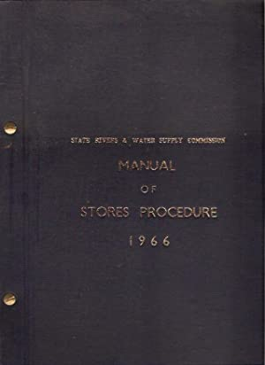 Manual of Stores Procedure As adopted by