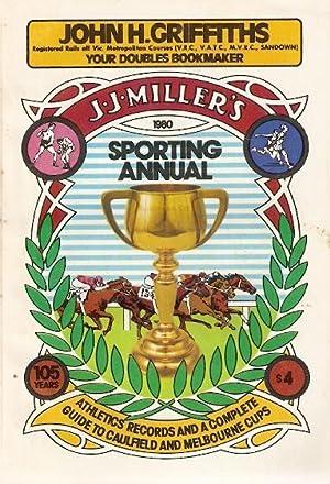 J.J. Miller's 1980 Sporting Annual. 105th year.: Henry, Bill (ed)