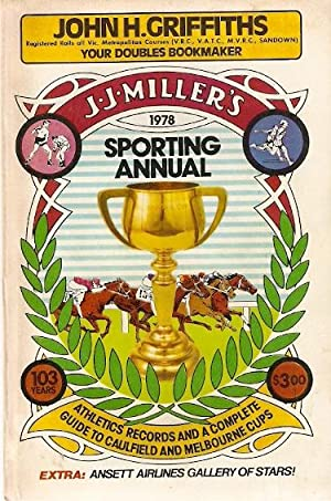 J.J. Miller's 1978 Sporting Annual. 103rd year.: Henry, Bill (ed)