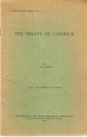 The Treaty of Limerick. Irish History Series,: Simms, J.G.