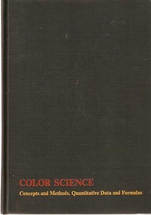 Color Science Concepts and Methods, Quantitative Data: Wyszecki, Günter &