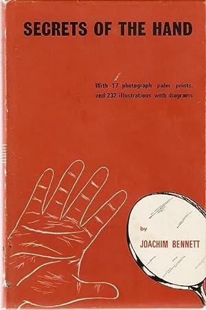 Secrets of the Hand With 17 photograph: Bennett, Joachim