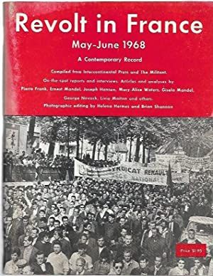 Revolt in France May-June 1968 : A