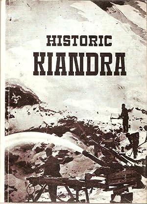 Historic Kiandra. A guide to the history: Moye, D.G.