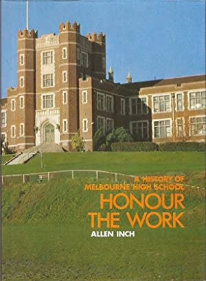 A History of Melbourne High School: Honour: Inch, Allen