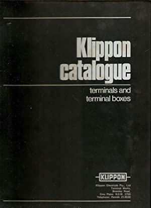 Klippon Catalogue : terminals and terminal boxes.
