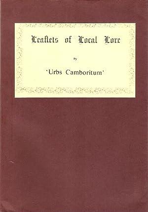 Leaflets of Local Lore: Urbs Camboritum