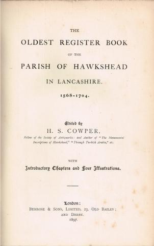 Shropshire Parish Register Society