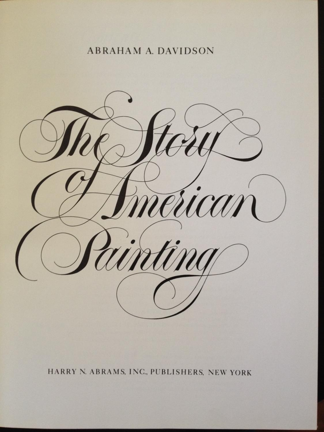 The Story of American Painting: Davidson, Abraham