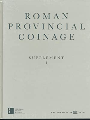 Roman Provincial Coinage Supplement 1: Andrew Burnett, Michel