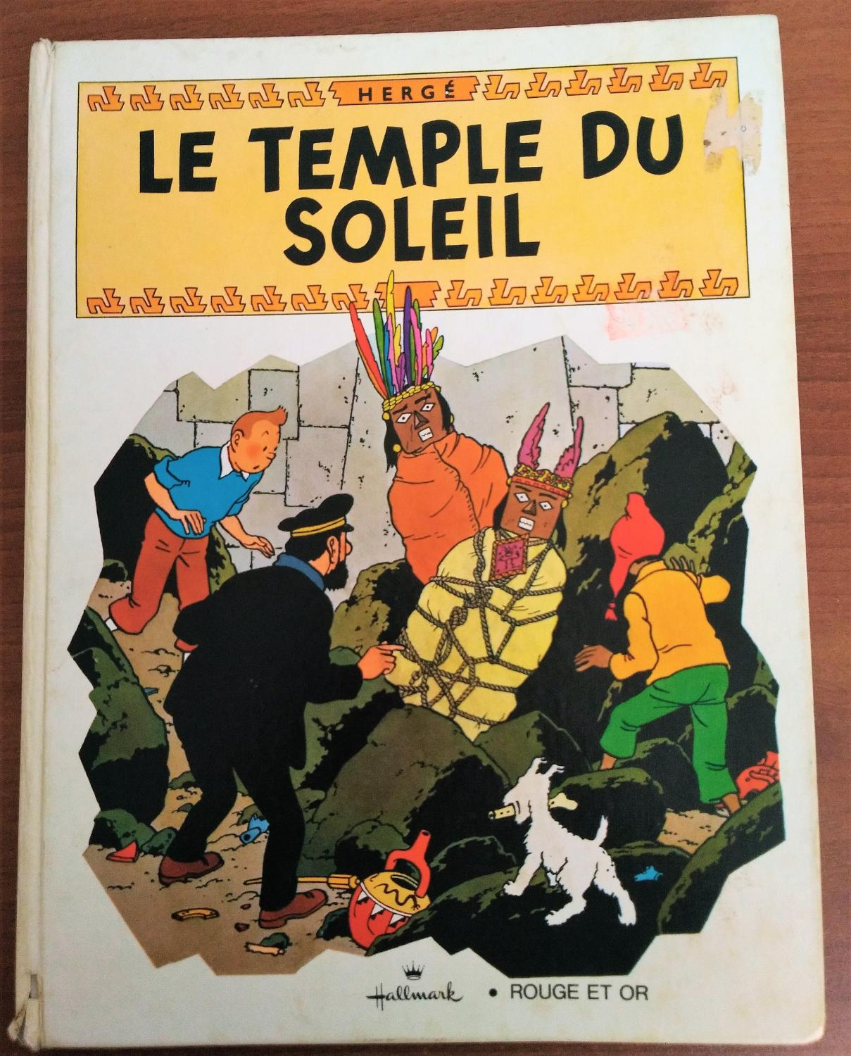 Foreign Language Tintin Book French