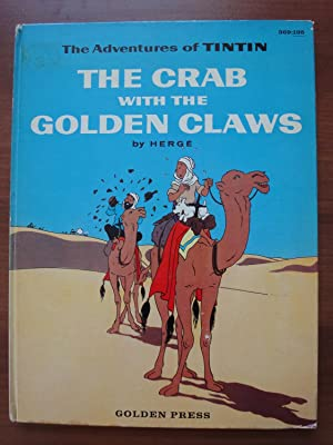 The Adventures of Tintin: The Crab with the Golden Claws - 1st and only American Edition from Gol...