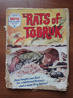 Battle Picture Library: #1 The Rats of Tobruk (FIRST OF THE SERIES from January 16, 1961)