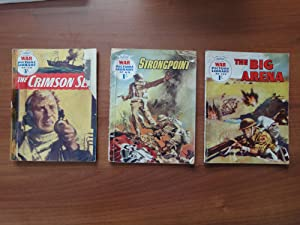 Set of 3 Comics from the War Picture Library - All art by Hugo Pratt (Author of Corto Maltese): #...