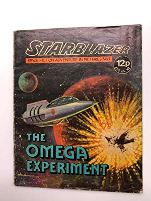 Starblazer Comic: Space Fiction Adventure in Pictures #1 The Omega Experiment (FIRST OF THE SERIES)