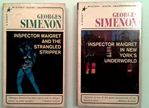 Inspector Maigret and the Strangled Stripper, Inspector: Georges Simenon