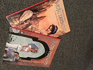 Set of 2 European Graphic Novels in English - INDIA DREAMS published by Om Books - 1. Misty Trail...