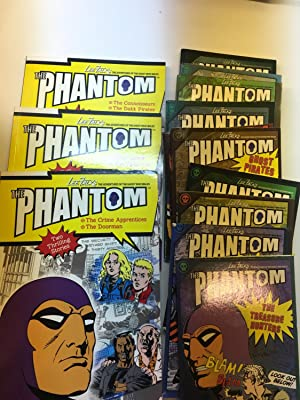 Set of 12 Books with 15 Phantom comics titles in English - Titles are - The Ghost Wall, The Secre...