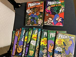 Set of 16 Books with 16 Phantom comics titles in English - Titles are - The Ghost Wall, The Secre...