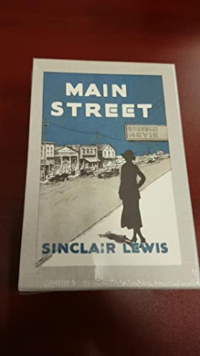 Main Street (First Edition Library Facsimile): Sinclair Lewis