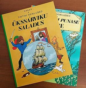 Set of 2 Books - 1st Edition: Hergé